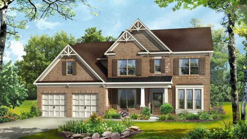 Buford GA New Home Style In Whispering Creeks